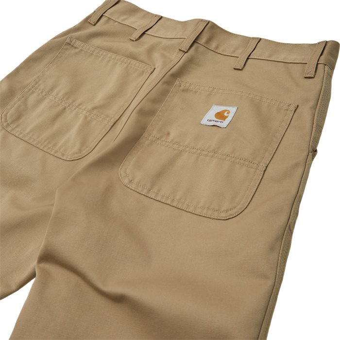 Simple Pant - Trousers - Straight fit - Sand